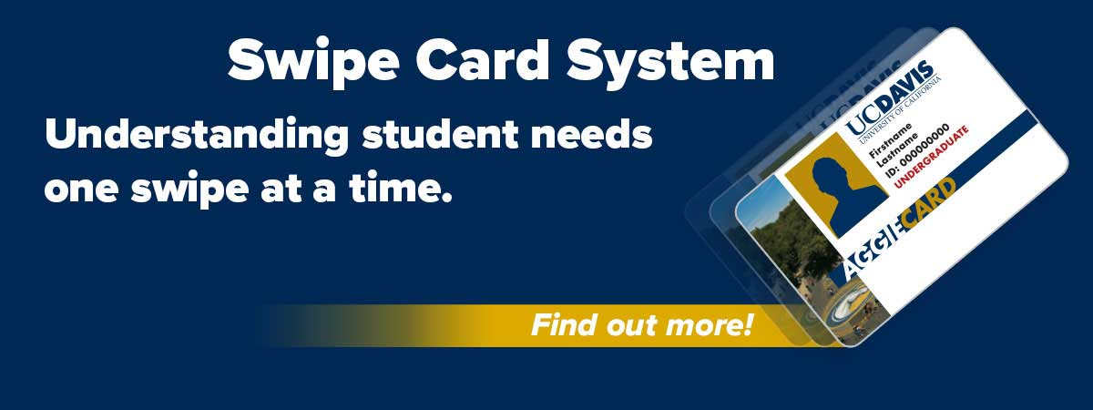 Join the swipe card program and help deliver better services to students.